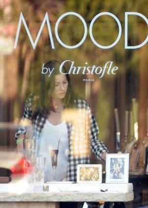 Jessica Biel: Shopping in Los Angeles -18