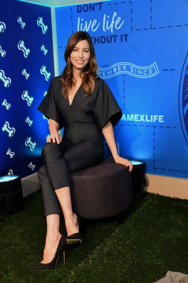 Jessica Biel - The American Express Experience in New York