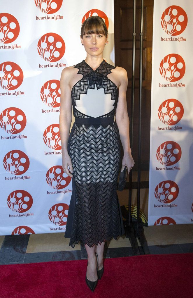 Jessica Biel - 'The Book of Love' Screening in Indianapolis