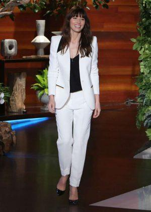 Jessica Biel - The Ellen Degeneres Show in Burbank