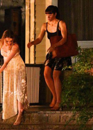 Jessica Biel The Sinner Filming In New York