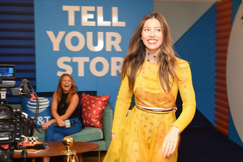 Jessica Biel 2019 : Jessica Biel – Variety Studio at TIFF 2019-01
