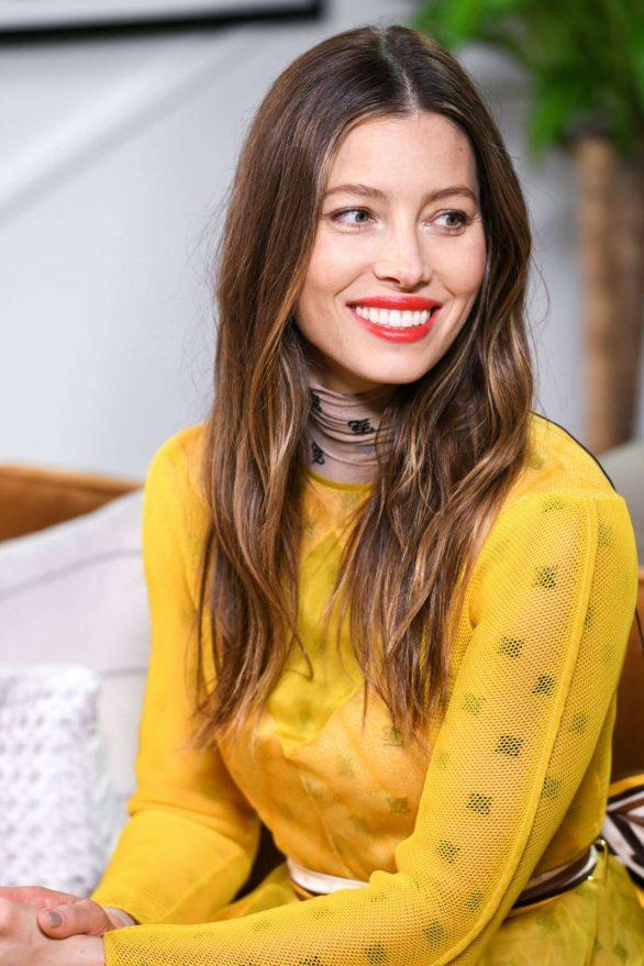 Jessica Biel - Variety Studio at TIFF 2019