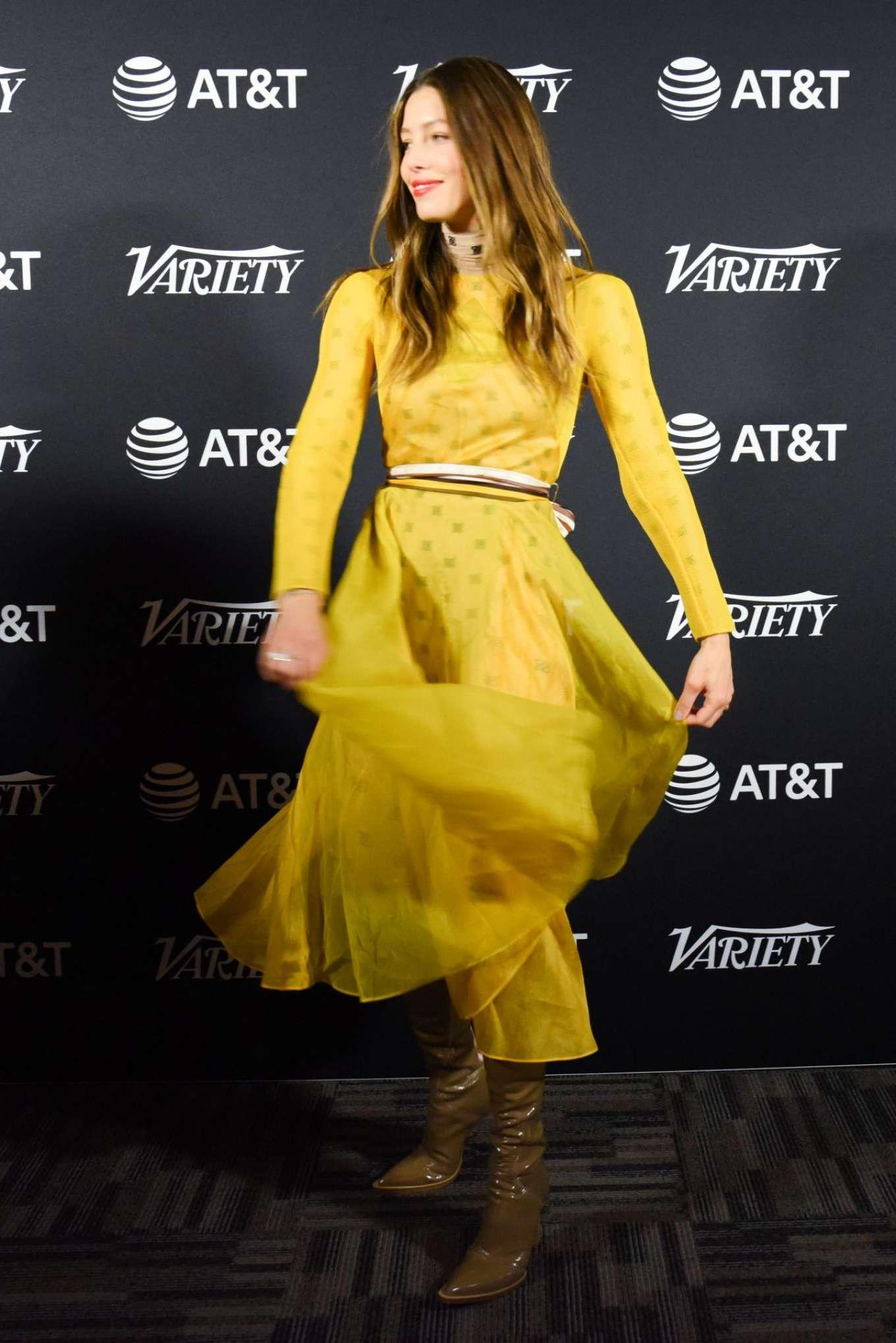 Jessica Biel 2019 : Jessica Biel – Variety Studio at TIFF 2019-05