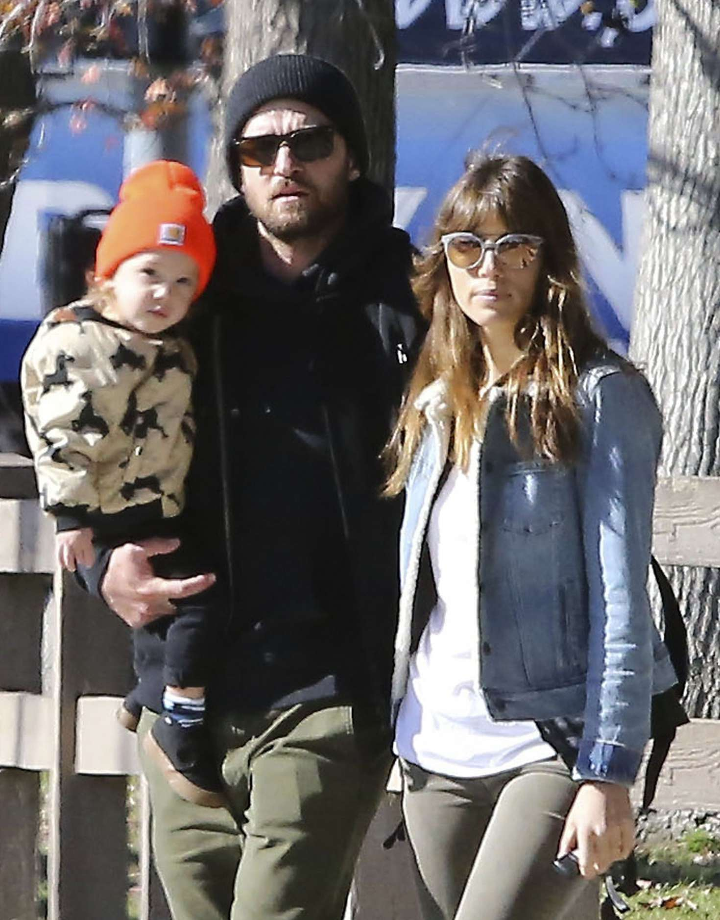 Jessica Biel With Her Family Out In Los Angeles 11 Gotceleb