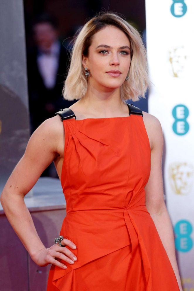 Jessica Brown Findlay - 2017 British Academy Film Awards in London