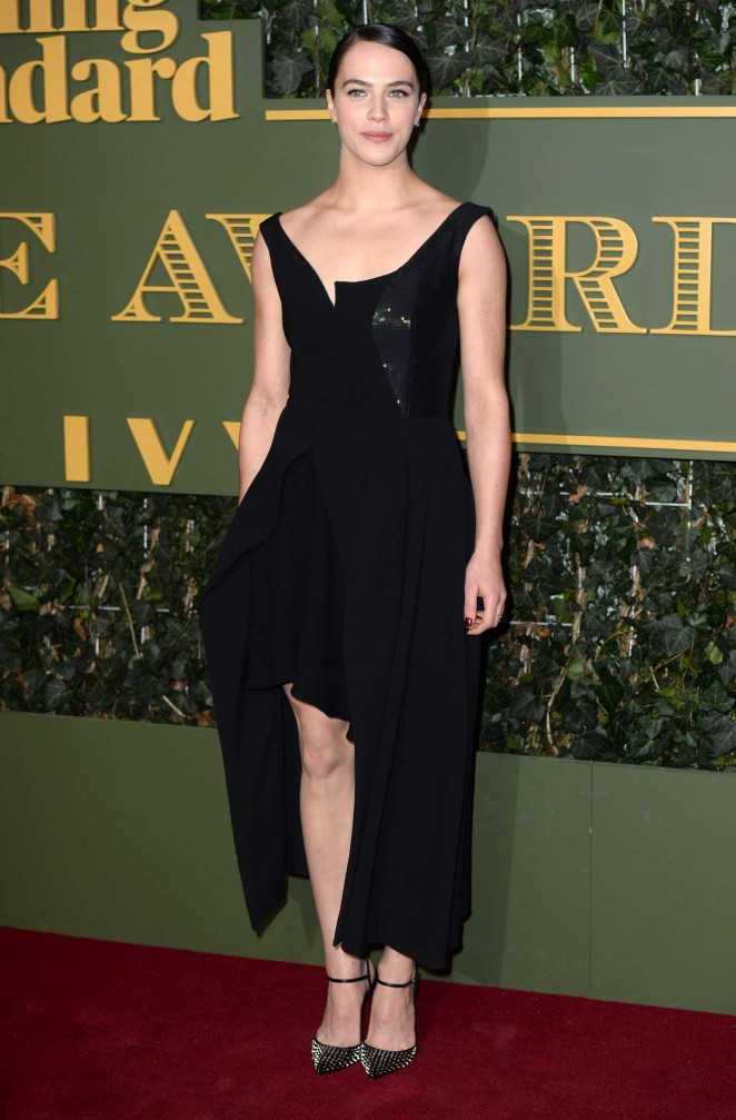 Jessica Brown Findlay - Evening Standard Theatre Awards 2015 in London