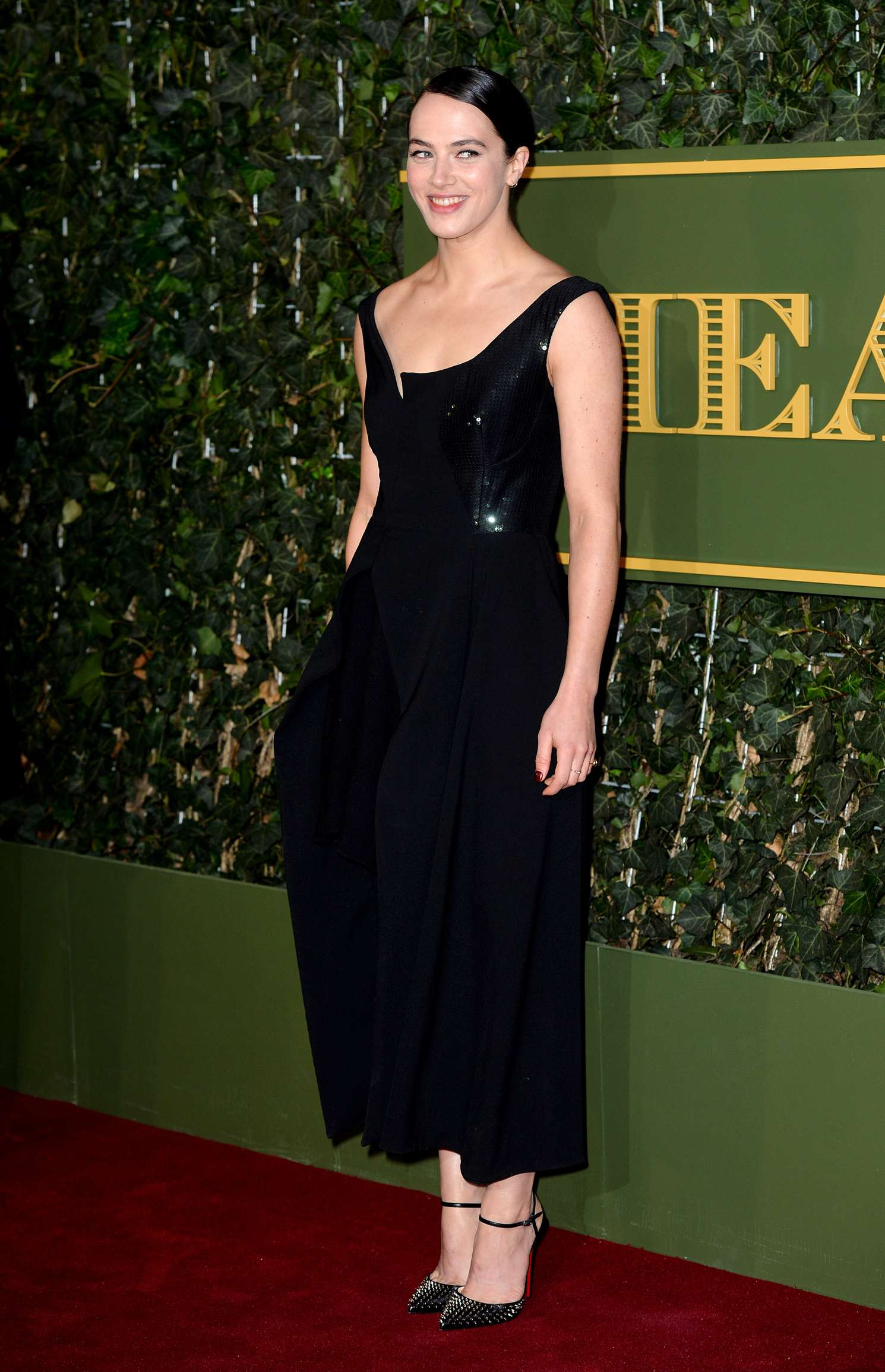 Jessica Brown Findlay 2015 : Jessica Brown Findlay: Evening Standard Theatre Awards 2015 -03