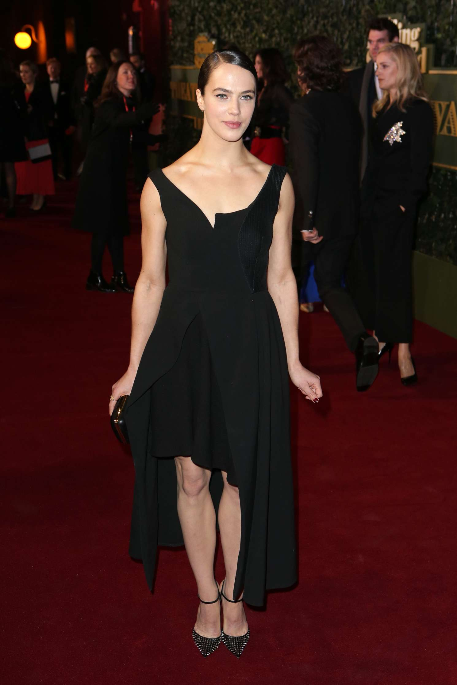 Jessica Brown Findlay 2015 : Jessica Brown Findlay: Evening Standard Theatre Awards 2015 -07