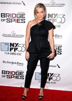 Jessica Capshaw - 'Bridge of Spies' Premiere in NYC