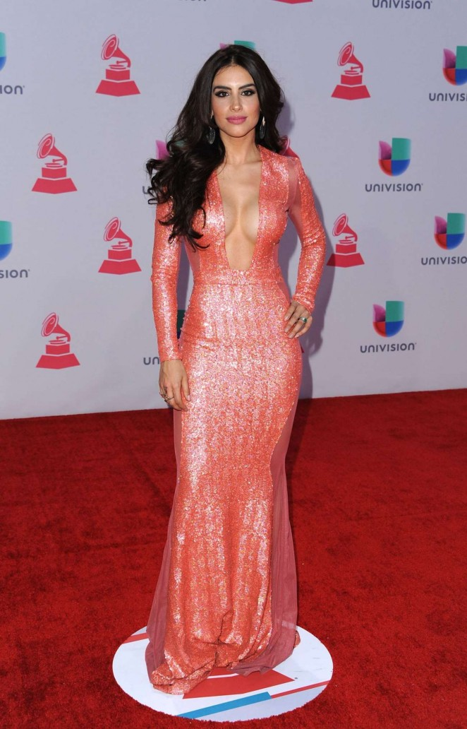Jessica Cediel - 2015 Latin Grammy Awards in Las Vegas