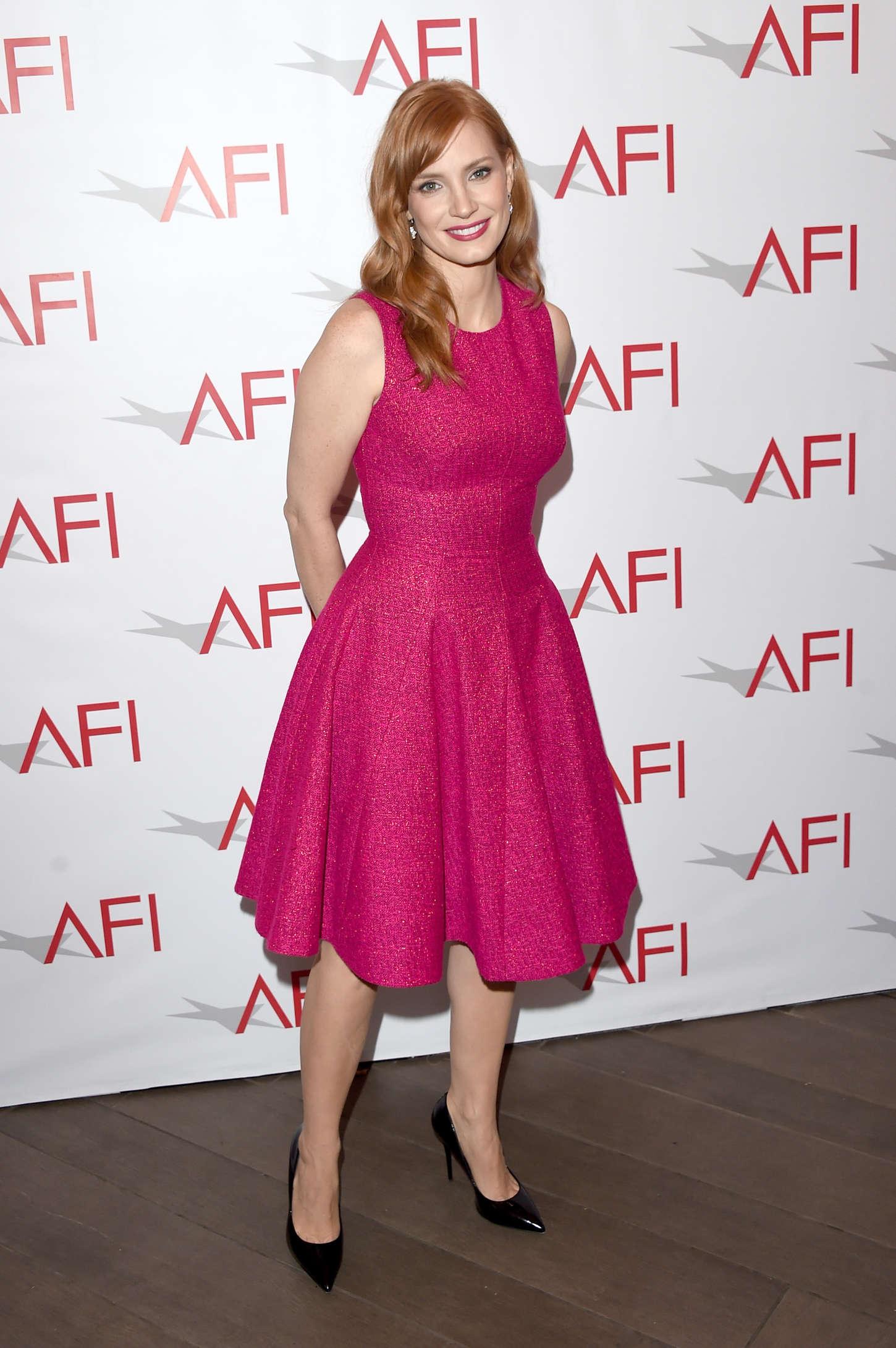 Jessica Chastain 2015 : Jessica Chastain: 2015 AFI Awards -04