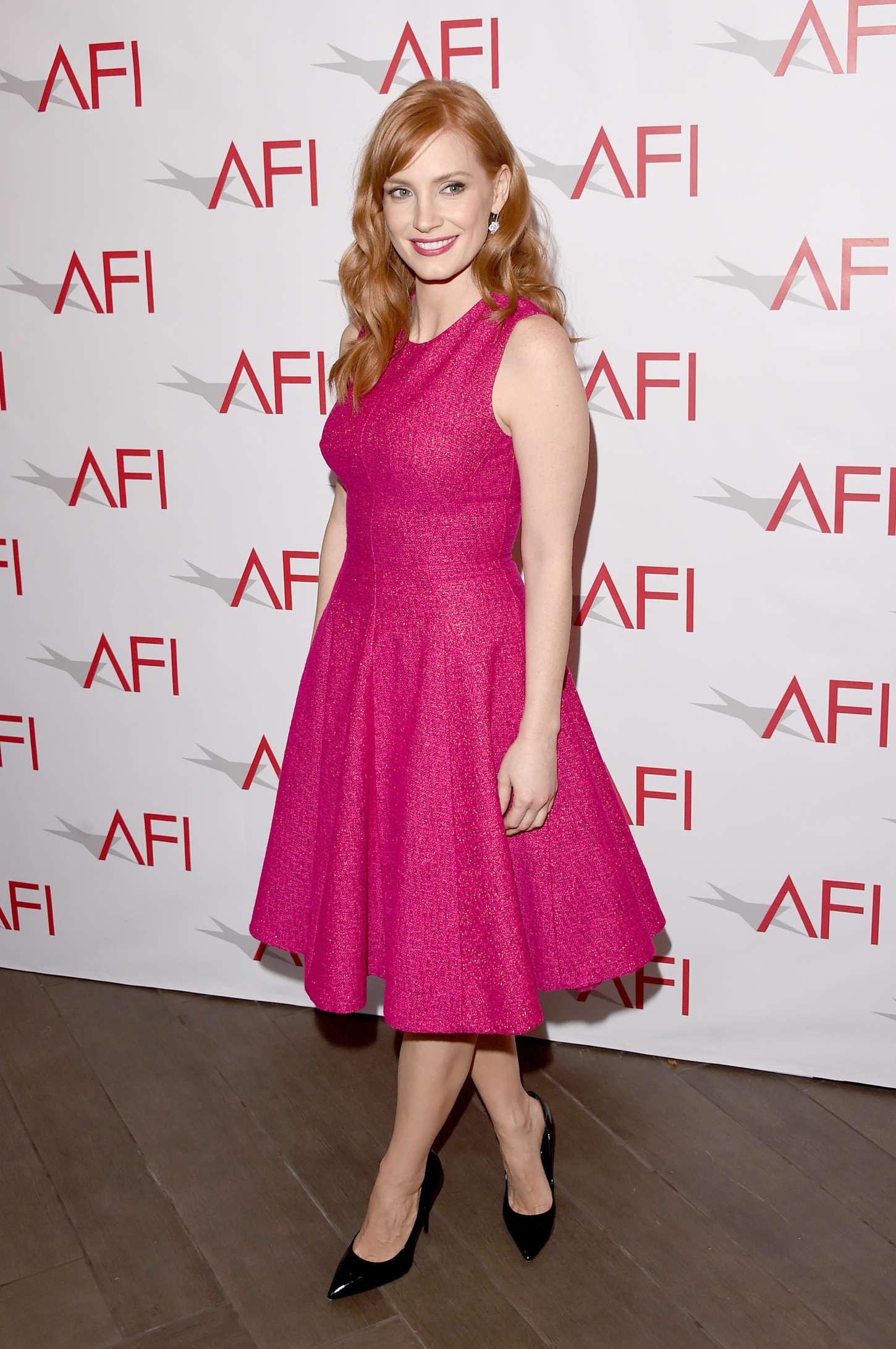 Jessica Chastain 2015 : Jessica Chastain: 2015 AFI Awards -05