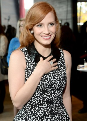 Jessica Chastain - 2015 Film Independent Filmmaker Grant and Spirit Awards nominee brunch in West Hollywood