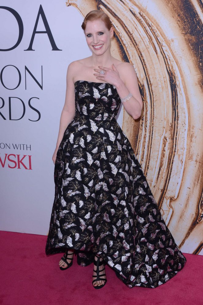 Jessica Chastain - 2016 CFDA Fashion Awards in New York