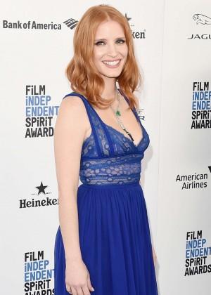 Jessica Chastain - 2016 Film Independent Spirit Awards in Santa Monica