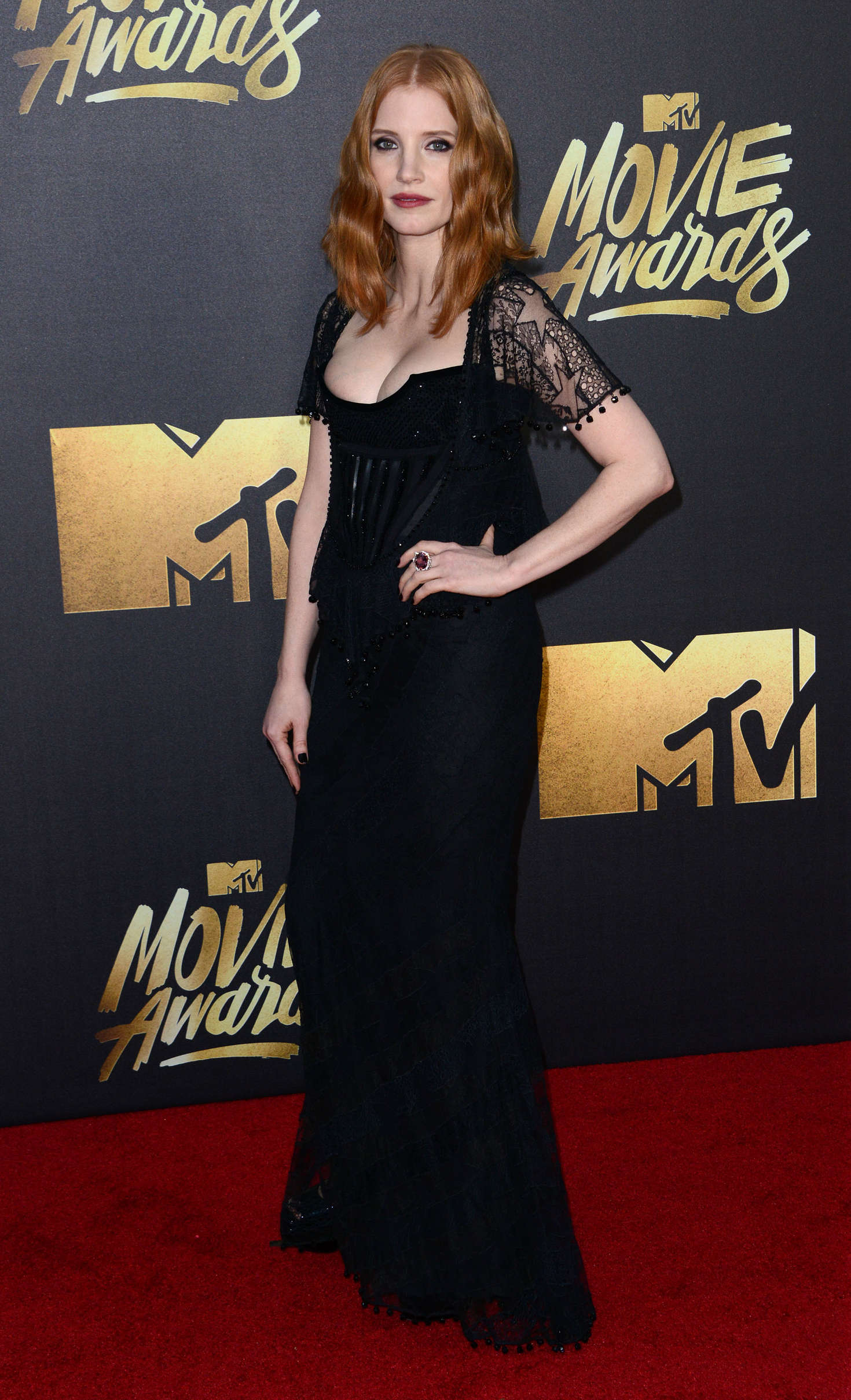 Jessica Chastain: 2016 MTV Movie Awards -13 - GotCeleb Jessica Chastain Movies