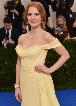 Jessica Chastain - 2017 MET Costume Institute Gala in NYC