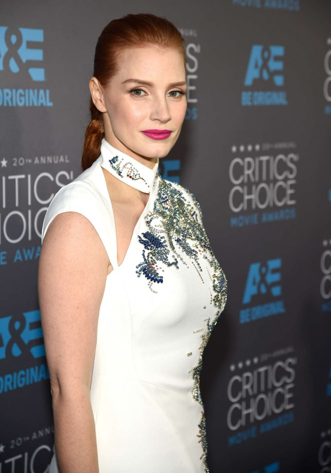 Jessica Chastain - 2015 Critics Choice Movie Awards in LA