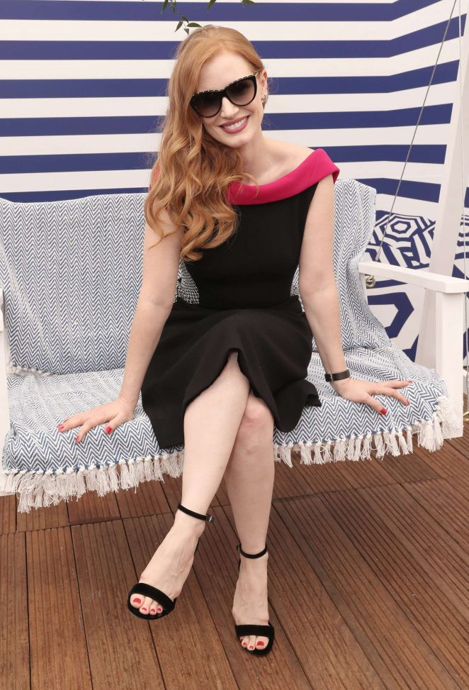 Jessica Chastain - '355' Cocktail Party with DIRECTV and The Hollywood Reporter at 2018 Cannes