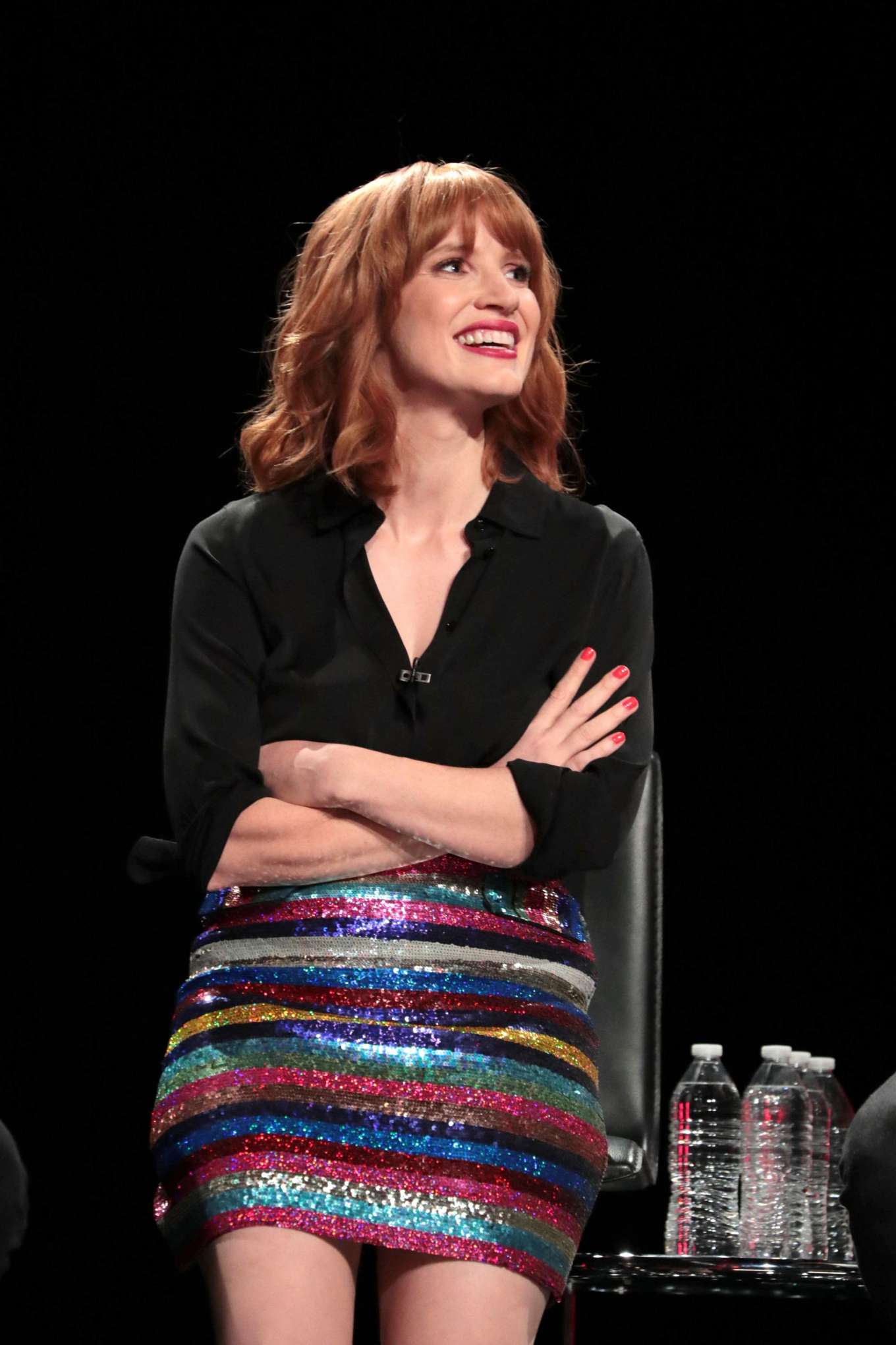 Jessica Chastain - 3rd Annual ScareDiego Presents It: Chapter 2 at San Diego Comic Con