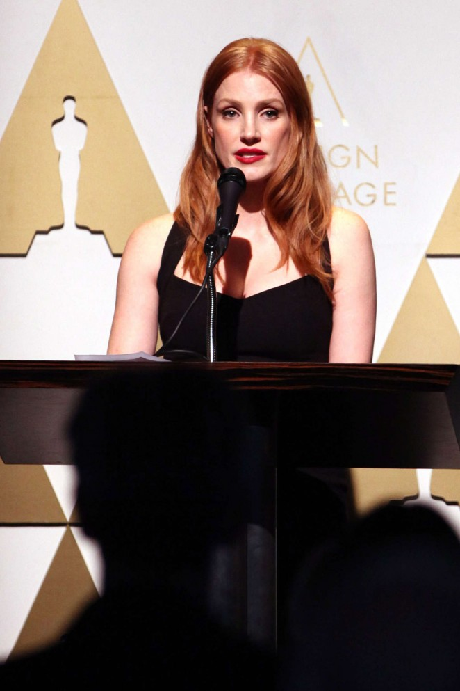 Jessica Chastain - 87th annual Academy Awards Oscar Week Celebrates Foreign Language Films in LA