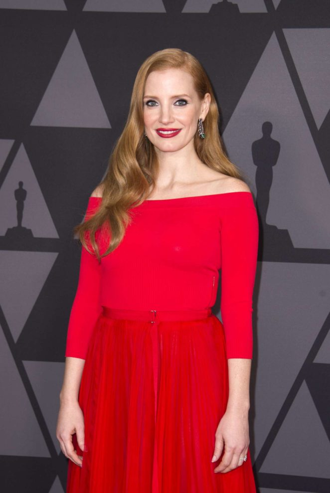 Jessica Chastain - 9th Annual Governors Awards in Hollywood