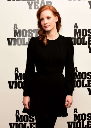 """Jessica Chastain - """"A Most Violent Year"""" Photocall in London"""