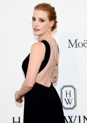 Jessica Chastain - amfAR's 24th Cinema Against AIDS Gala in Cannes