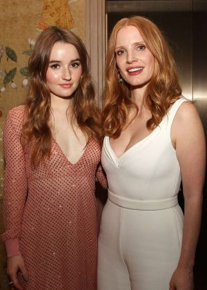 Jessica Chastain and Kaitlyn Dever - 'DETROIT' Special Screening in New York