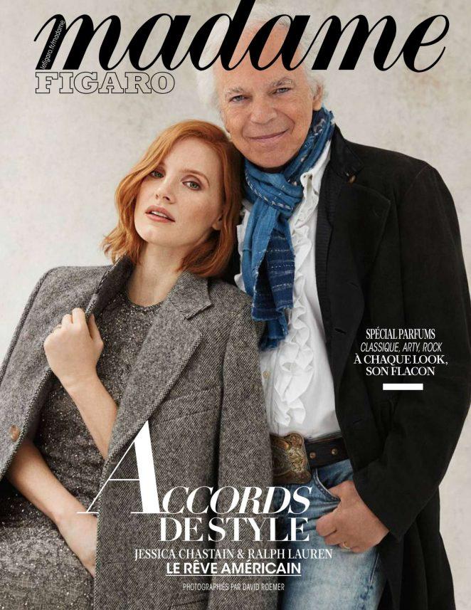 Jessica Chastain and Ralph Lauren – Madame Figaro Magazine (November 2018)