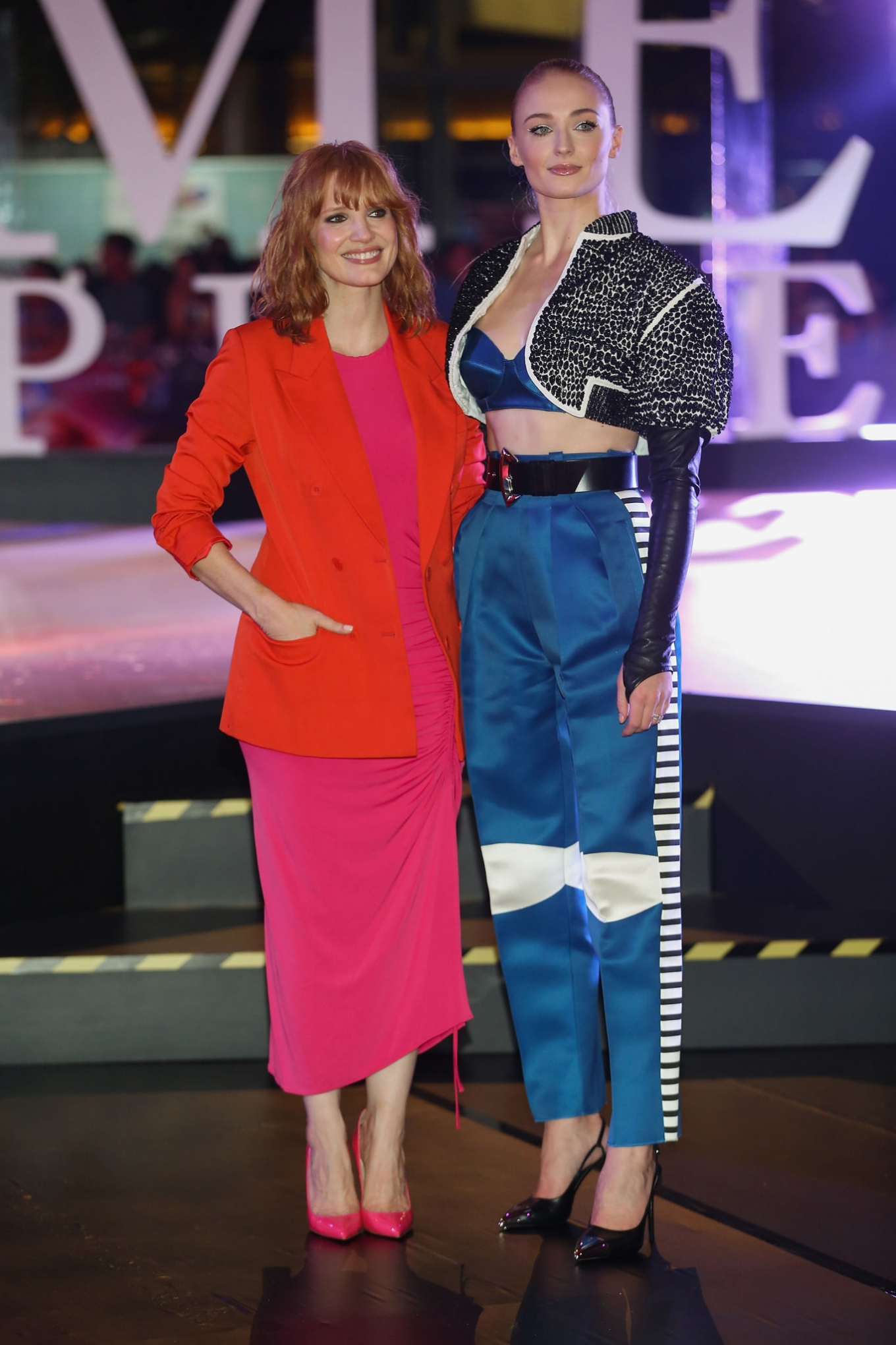 Jessica Chastain and Sophie Turner - 'X-Men Dark Phoenix' Fan Event in Mexico
