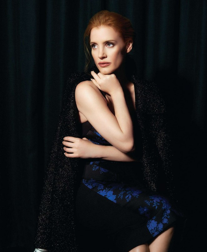 Jessica Chastain - Angeleno Magazine (May 2016) adds
