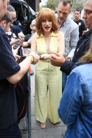 Jessica Chastain - Arriving at Scare Diego