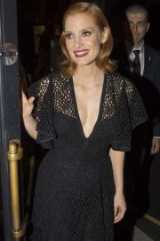 Jessica Chastain - Arriving at the 'IT Chapter Two' after party in London