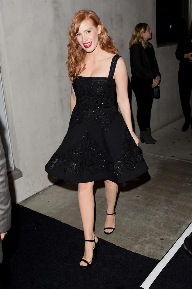 Jessica Chastain - Audi Celebrates Golden Globes Week 2015 in LA