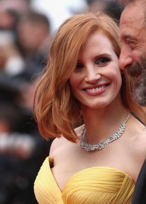 Jessica Chastain – 'Cafe Society' Opening Gala at 2016 Cannes ...