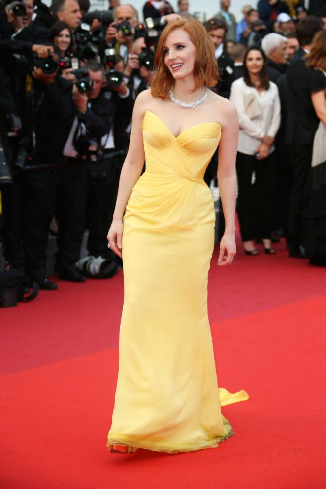 Jessica Chastain - 'Cafe Society' Opening Gala at 2016 Cannes Film Festival