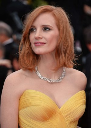 Jessica Chastain – 'Cafe Society' Premiere at 2016 Cannes Film ...
