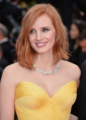 Jessica Chastain – 'Cafe Society' Premiere at 2016 Cannes Film ...  Jessica Chastain