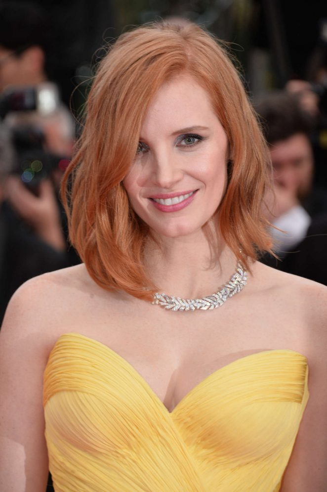 Jessica Chastain - 'Cafe Society' Premiere at 2016 Cannes Film Festival