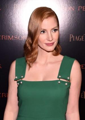 Jessica Chastain - 'Crimson Peak' Premiere in New York City
