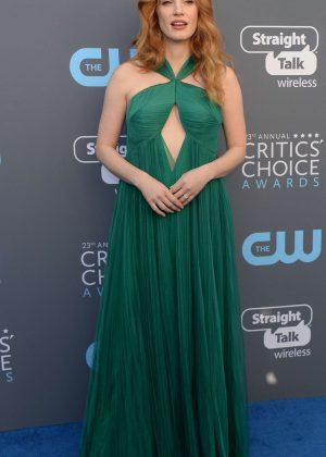 Jessica Chastain - Critics' Choice Awards 2018 in Santa Monica