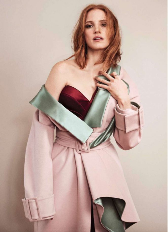 Jessica Chastain - Elle France Magazine (October 2016)