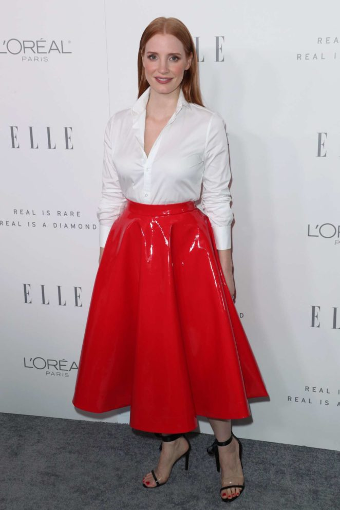 Jessica Chastain - ELLE's 24th Annual Women in Hollywood Celebration in LA
