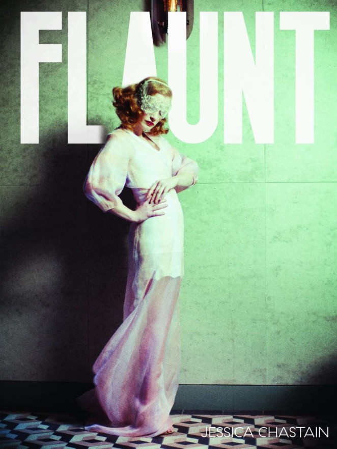 Jessica Chastain - Flaunt Magazine Cover (April 2016)