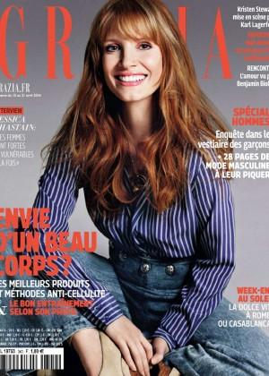 Jessica Chastain - Grazia Italy Magazine (April 2016)