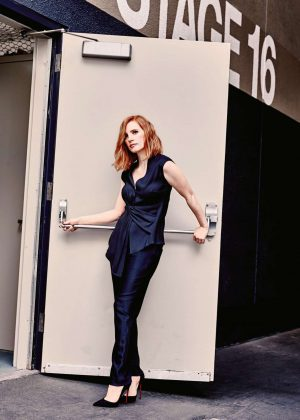Jessica Chastain in Total Film (June 2017)
