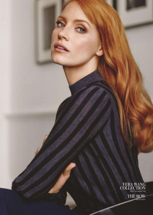 Jessica Chastain - InStyle UK Magazine (July 2015)