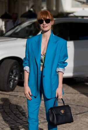 Jessica Chastain - is spotted out and about during the festival in Cannes